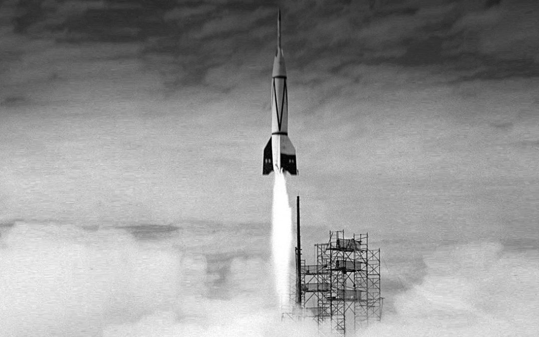 Cape Canaveral's First Rocket Launch