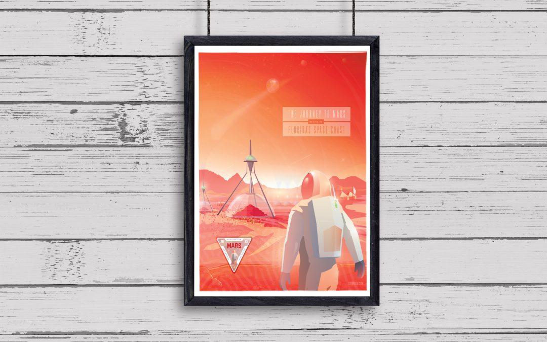 Mars Concept Art Print
