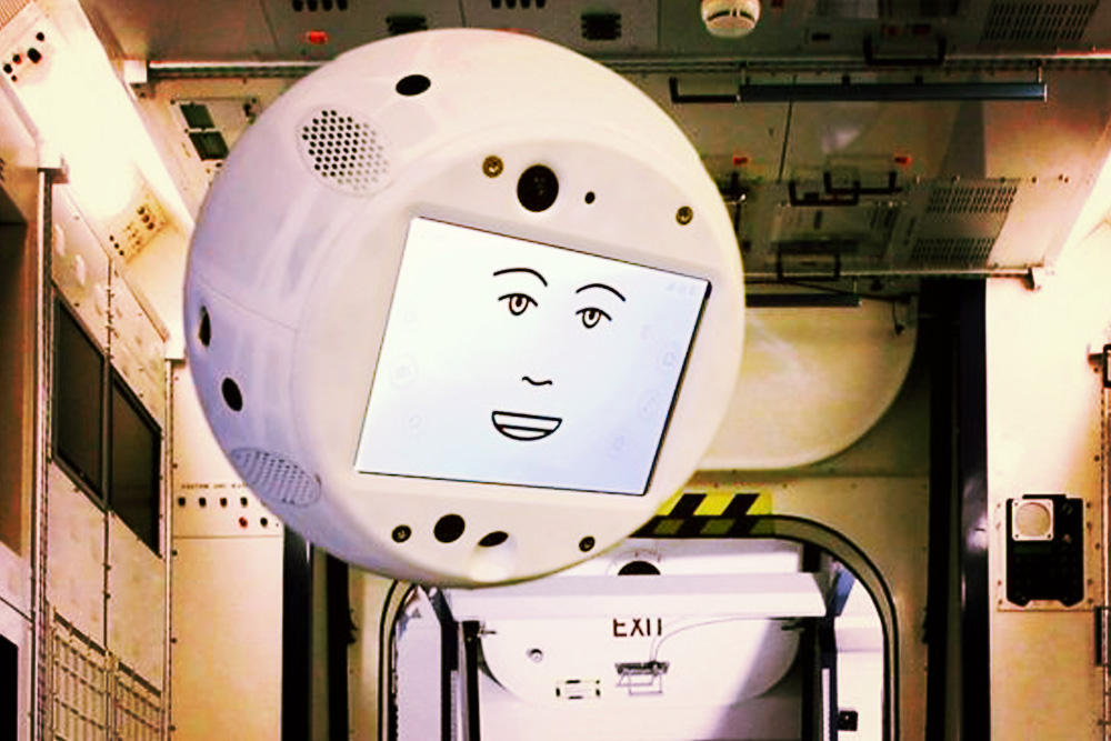 CIMON Says: Meet Astronauts' New Robot Space Companion